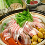 口福家 にし川 - 2780円の蒸しコースです。