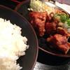 馳走 - 料理写真:日替り定食「鶏の唐揚げ」を頂きました。
