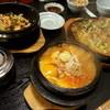 多来 - 料理写真:ナムル石焼、納豆のチゲ、パジョン