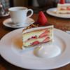イロドリ - 料理写真:ストロベリーショートケーキチョコレートがけ 冬季のみ☆