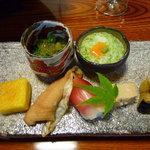 親和苑 - 料理写真:(夕食①)前菜