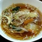 昭和焼飯店 - 料理写真:タンメン ハーフ