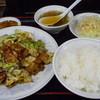 大番 - 料理写真:回鍋肉定食