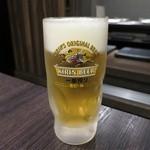 とんぼ - 生ビール