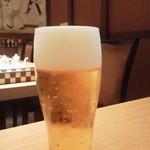 47356474 - セットの生ビール中
