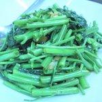 健昌 - 空芯菜の炒め物