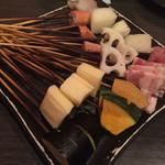遊かつ - 料理写真:串各種