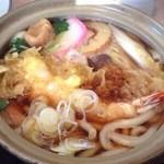 はつね - 料理写真:鍋焼きうどん1050円