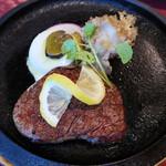 びふてき松江 - 料理写真:ビーフステーキ 80g
