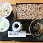 そば茶屋 江戸紺屋 - ひきずり850円