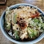 刀屋 - 天ぷらそば850円