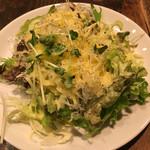スペインバル バリオ - サラダのボリュームが嬉しい