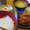 どどんと英 - 料理写真:唐揚げ10ケメガ盛り定食500円