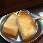 工場跡事務室 - 発酵バタートースト