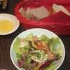 ラ ターブル エディアール - 料理写真:パンとサラダです