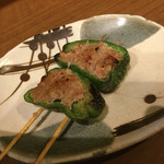 とりまさ - ピーマン肉詰め200円