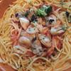 ファミリーマート - 料理写真:旨味広がる❗️魚介のトマトパスタ450円