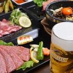 本格七輪 炭火焼肉 炭咲 - 料理写真:ご宴会用コースイメージ!