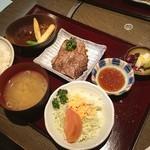肉屋の肉料理 みずむら - デラックスランチ(^^)