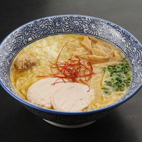 濃厚鶏白湯そば(当店のおすすめ)