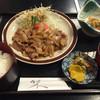 げんき亭 - 料理写真:しょうが焼定食=700円