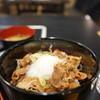 食彩厨房やくも - 料理写真:八雲牛めし(温玉付き