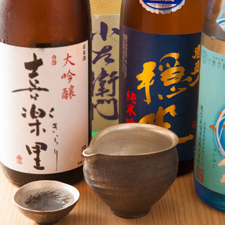 日本酒が豊富!!二次会や仕事終わりの1人飲みに最適。