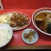 大門 - 料理写真:焼肉定食、ラーメン付き。