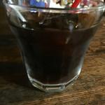 モノカフェ ワヲン - 練乳(=コンデンスミルク)のベトナムコーヒー