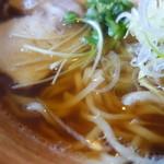 馬力本願 - スープは鶏ガラが強い印象(馬肉を使わないスープでは)