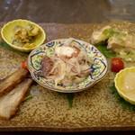 千代 - 前菜五品盛り合わせ 二人用 2100円