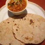 Zero - チャパティと豆のサブジ
