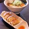 シロサキ - 料理写真:醤油らーめん&手作り餃子