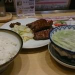 利久 - 牛タン定食1200円