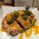 ディム ジョイ - 鶏唐揚げマンゴーソース
