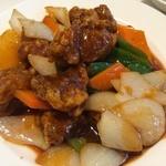 47442606 - 広東名菜富徳(酢豚定食)