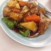 平和園 - 料理写真:酢豚〜