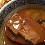 三田製麺所 - サイコロチャーシュー