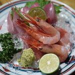京 五条 - 料理写真:刺身盛り合わせ