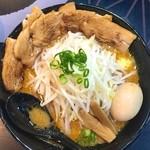 麺屋 白虎 - 富士山盛り味噌らーめん 真上から