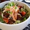 コンフィー - 料理写真:シャキシャキ野菜の唐マヨ丼