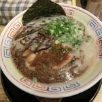 節 - 黒豚骨(720円)