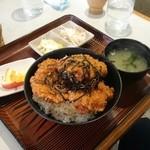 いかりやレストラン デミタス - ヒレカツ丼タレ