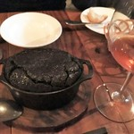 アルルの食堂 urura - イカスミのキッシュ