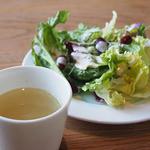 47455205 - ランチサラダ&スープ