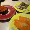 あみもとの里 かがしま - 料理写真:いくら(180円)とサーモン(230円)