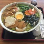 左入増田屋 - 料理写真:五目ラーメン 900円