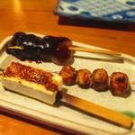 田楽あぶでん - 味噌おでん三昧 530円