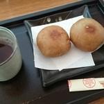 秋保草庵 - 揚げそばまんじゅう