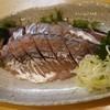 喜久寿し - 料理写真:鯵の刺身